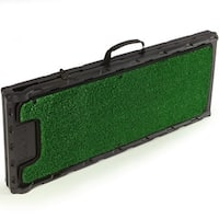 Gen7Pets Black Plastic and Green Artificial Turf Natural-step Pet Ramp