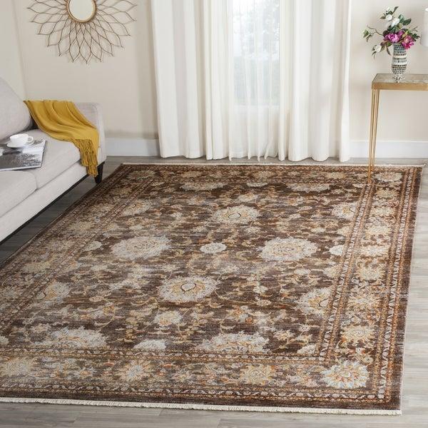 Safavieh Vintage Persian Brown/ Multi Distressed Rug - 8' x 10'