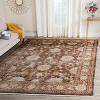 Safavieh Vintage Persian Brown/ Multi Distressed Rug - 9' x 11'7