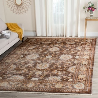 Safavieh Vintage Persian Brown/ Multi Distressed Rug (9' x 11'7)