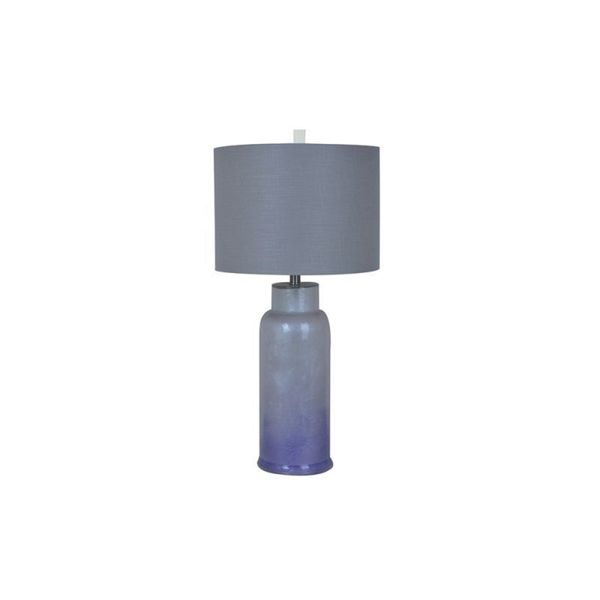 Rossi Taupe Ice Glass 31-inch Table Lamp