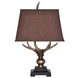 Crestview Collection 25.5-inch Antique Bronze Table Lamp