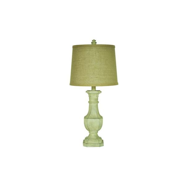 Crestview Collection 30.5-inch White Wash Table Lamp