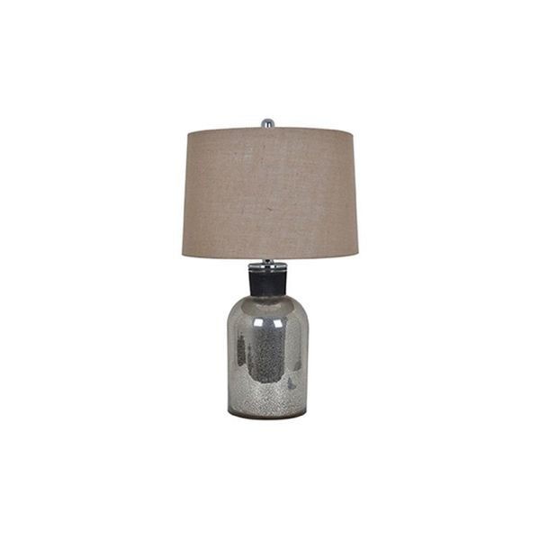 Crestview Collection 25.5 in. Mercury Table Lamp