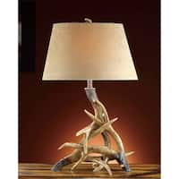Deer Shed Weathered Antler 31-inch Table Lamp
