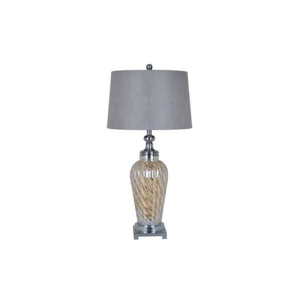 Crestview Collection 34.5-inch Caramel Table Lamp