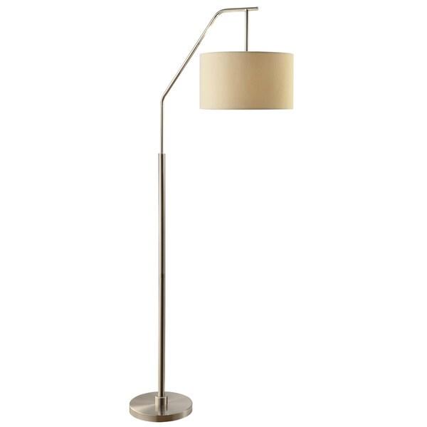 Dinsmore Brushed Nickel 72-inch Floor Lamp
