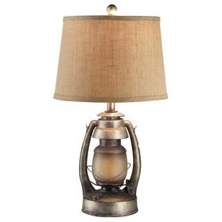 Oil Lantern Antique Lantern 27-inch Table Lamp