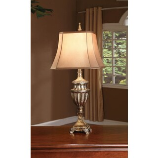 Andra Silver Opulence 33-inch Table Lamp