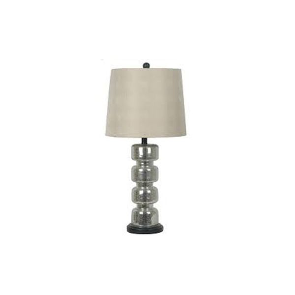 Crestview Collection 31-inch Antique Mercury Table Lamp