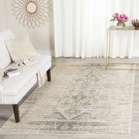 Safavieh Monaco Vintage Chic Distressed Grey/ Multi Rug - 8' x 11'