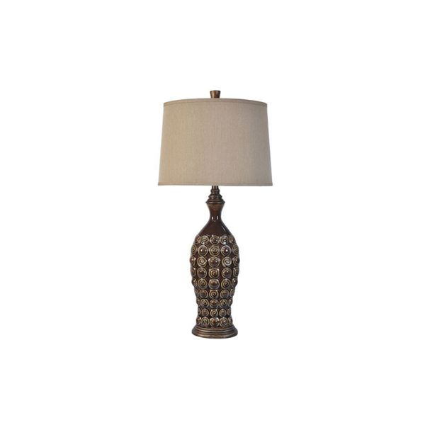 Crestview Collection 36.5-inch Stone Table Lamp
