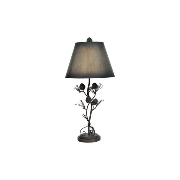 Antique Iron Twig 32-inch Table Lamp