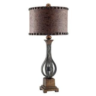 Rambler Antique Iron 33.5-inch Table Lamp