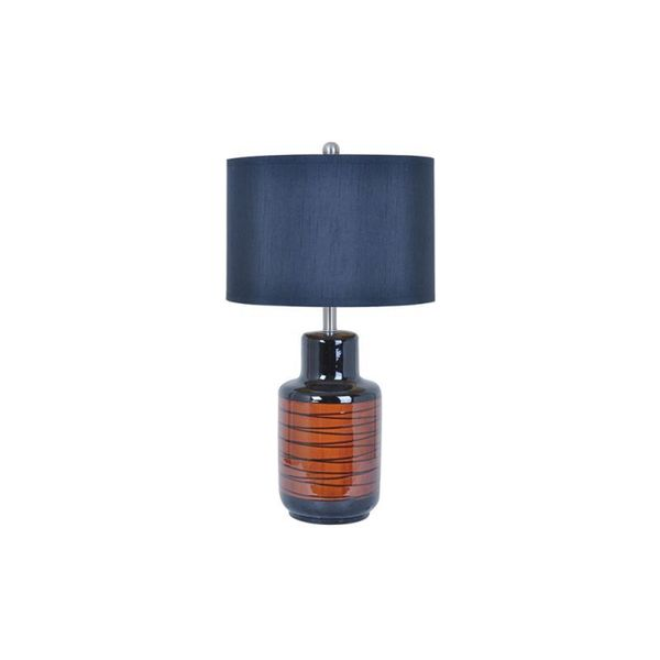 Tivoli Charcoal 32-inch Table Lamp