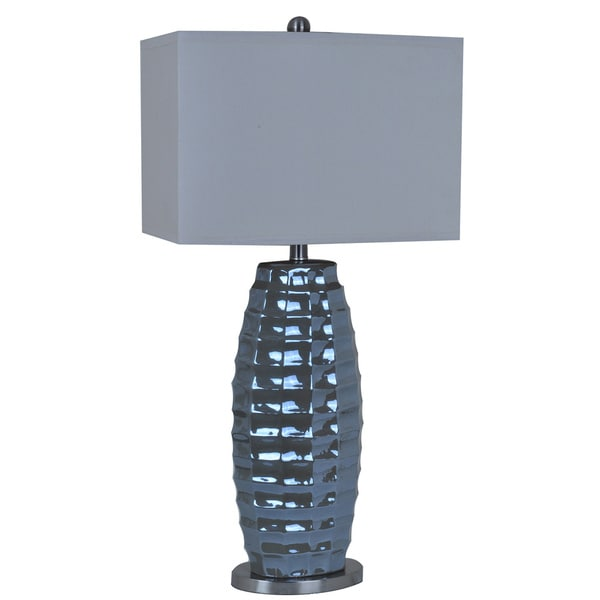 Tivoli Charcoal 32-inch Table Lamp