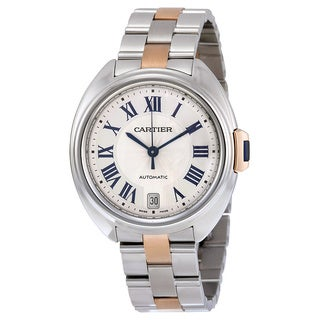 Cartier Women's W2CL0003 Cle de Cartier Silver Watch