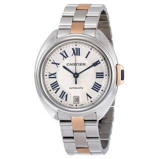 Cartier Women's W2CL0003 Cle de Cartier Silver Watch