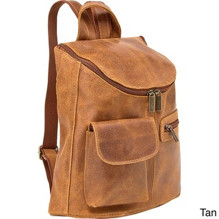 LeDonne Leather Women's Distressed Leather Fashion Backpack (2 options available)