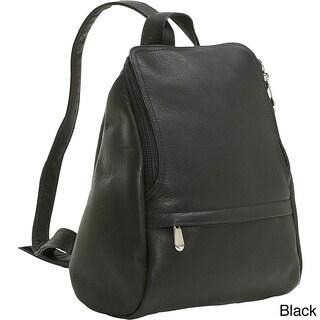 LeDonne Leather U-Zip Mini Backpack (4 options available)