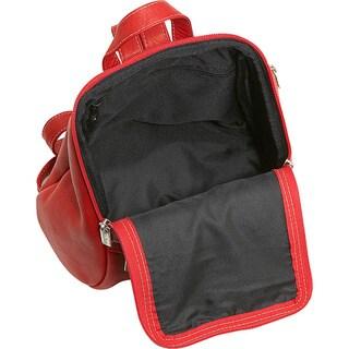 LeDonne Leather U-Zip Mini Backpack