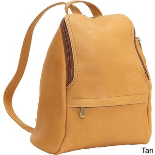 LeDonne Leather U-Zip Mini Backpack