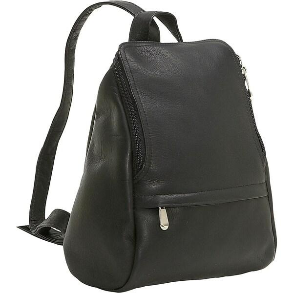 LeDonne Leather U-Zip Mini Backpack - Free Shipping Today ...