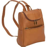 LeDonne Leather Women's Handcrafted Leather Everyday Fashion Backpack