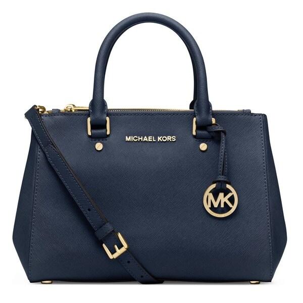 75a7b84a1561 Shop Michael Kors Sutton Small Saffiano Satchel Handbag - Free ...