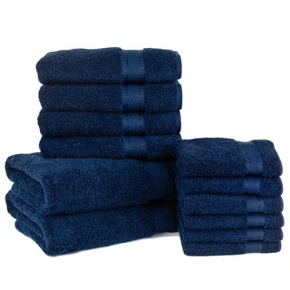 Grand Egyptian CERTIFIED GIZA Cotton 12-piece Bath Towel Set