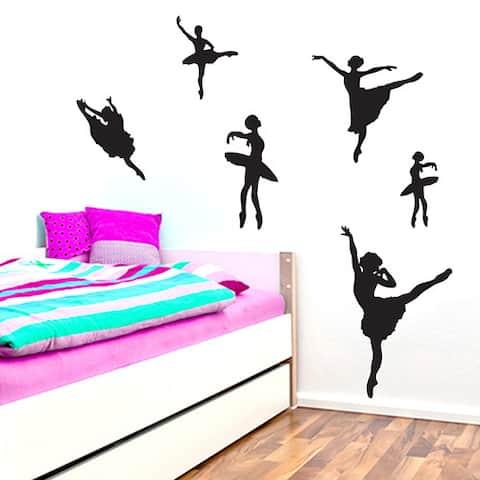 Set of Ballerines Wall Decals