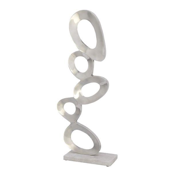 Classy Aluminum Sculpture Marble