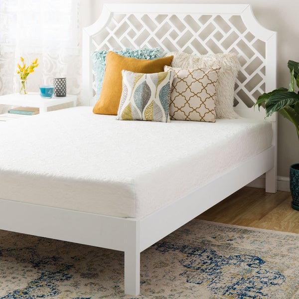 10 inch short queen size memory foam mattress free shipping today overstock 18657813. Black Bedroom Furniture Sets. Home Design Ideas