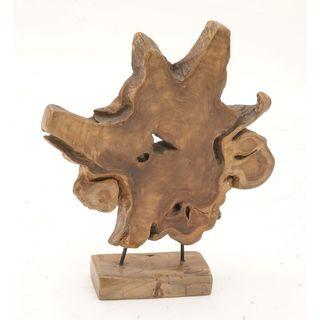 Alluring Teak Sculpture