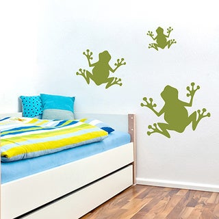 Set of Frogs Wall Decals