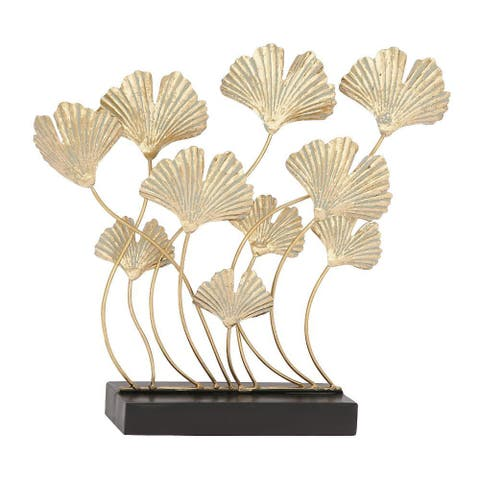 The Curated Nomad Merced Metal Gold Nature Sculpture