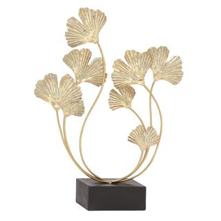 Inspiring Metal Gold Sculpture