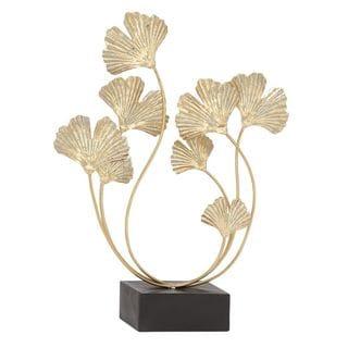 Inspiring Metal Gold Sculpture - Thumbnail 0