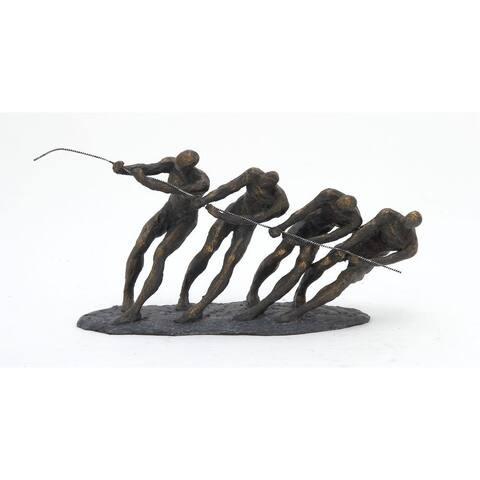 Strick & Bolton Buri Tug of War Sculpture