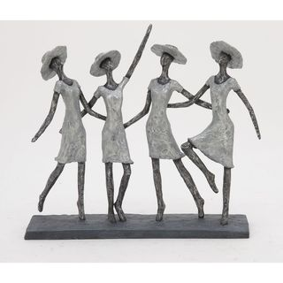 Charming Ps Ladies Sculpture