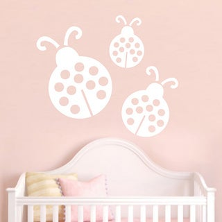 Set of Ladybugs Wall Decals SMALL (More options available)