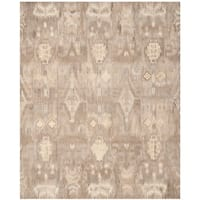 Safavieh Handmade Wyndham Natural/ Multi Wool Rug - 9' x 12'