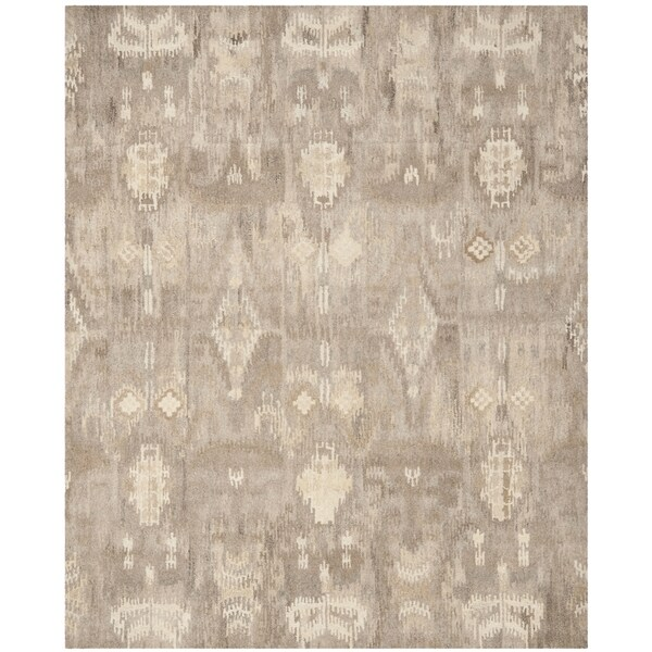 Shop Safavieh Handmade Wyndham Natural/ Multi Wool Rug