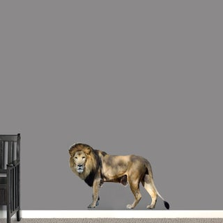 Printed Real Life Lion Wall Decal (3 options available)