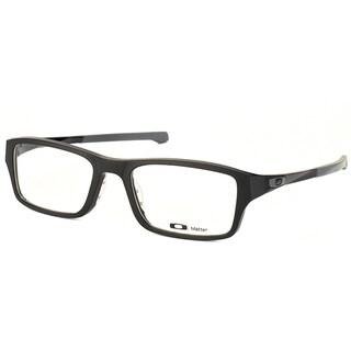 Oakley Chamfer OX8039-0149 Satin Black Rectangle 49mm Eyeglasses