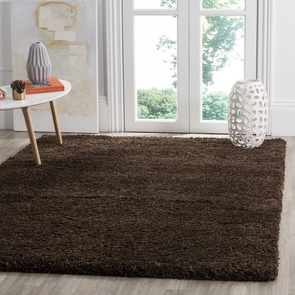 Safavieh Santa Monica Brown Polyester Rug - 9'6 x 13'