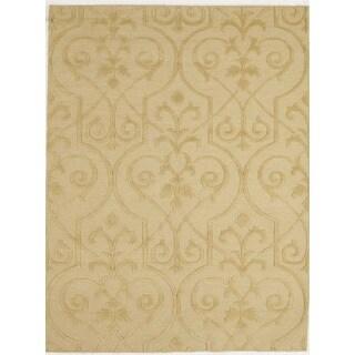 Handmade Flat Weave Area Rug  (5' 7 x 7' 5)