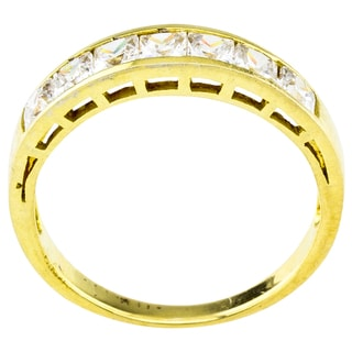 18k Gold Over Sterling Silver Stackable Ring