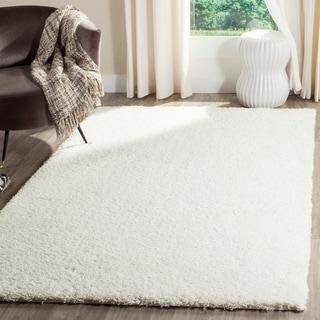 Safavieh Reno Shag White Polyester Rug (8' x 10')