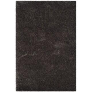 Safavieh Reno Shag Dark Grey Polyester Rug (8' x 10')